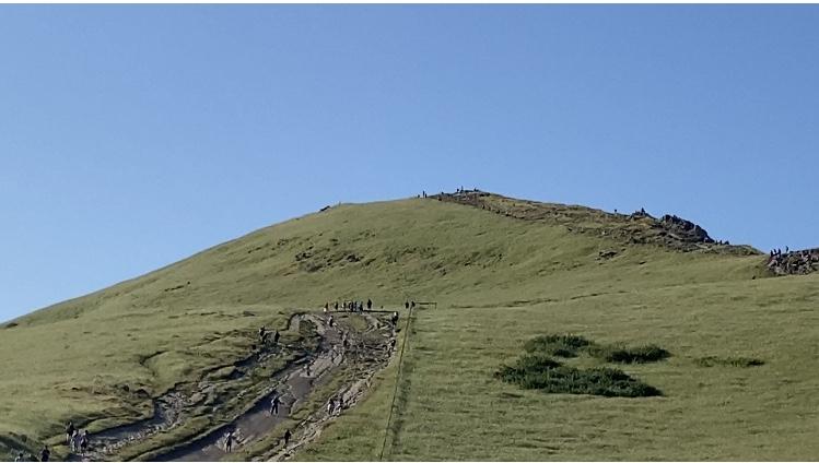Desafío, subir el Mission Peak